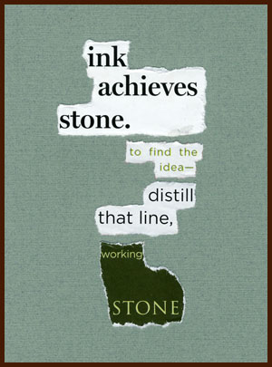 found poem © j.i. kleinberg ~ ink