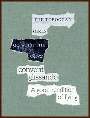 found poem © j.i. kleinberg ~ THE TOBOGGAN