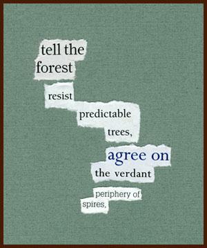 found poem © j.i. kleinberg ~ tell