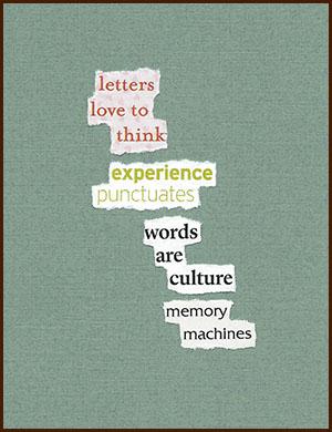 found poem © j.i. kleinberg ~ letters
