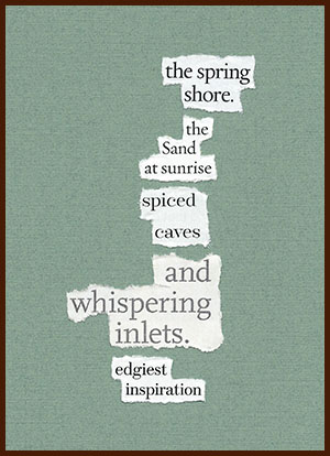 found poem © j.i. kleinberg ~ the spring
