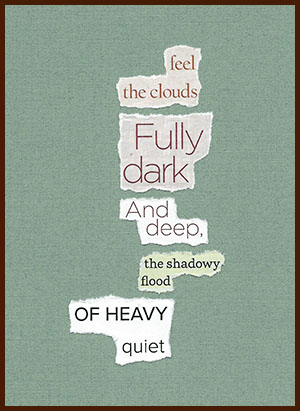 found poem © j.i. kleinberg ~ feel
