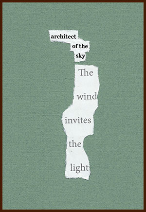 found poem © j.i. kleinberg ~ architect