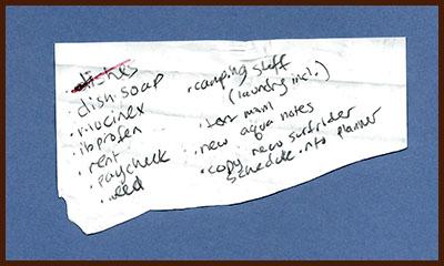 found list