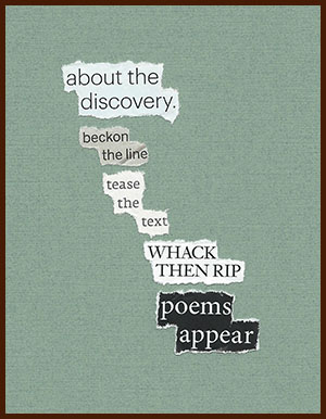 found poem © j.i. kleinberg ~ about