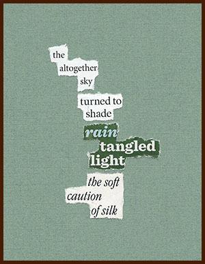 found poem © j.i. kleinberg ~ the altogether