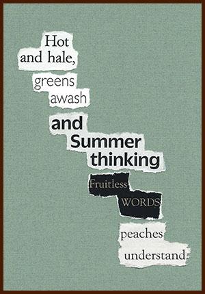 found poem © j.i. kleinberg ~ Hot
