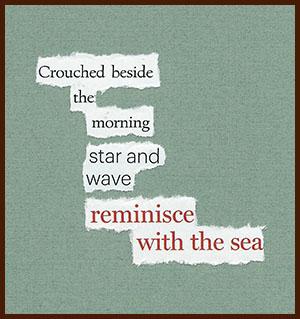 found poem © j.i. kleinberg ~ Crouched