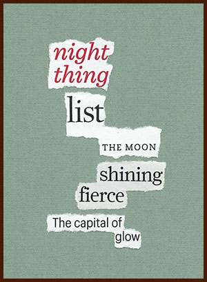 found poem © j.i. kleinberg ~ night