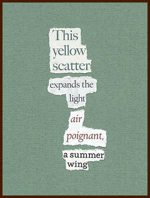 found poem © j.i. kleinberg ~ This