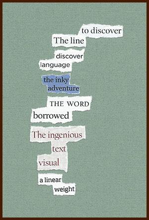 found poem © j.i. kleinberg ~ to discover