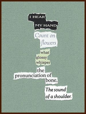 found poem © j.i. kleinberg ~ I HEAR