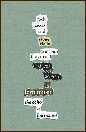 found poem © j.i. kleinberg ~ rock