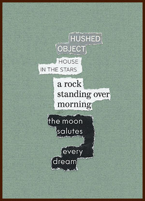 found poem © j.i. kleinberg ~ HUSHED