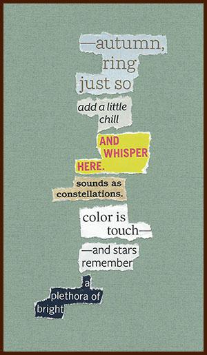 found poem © j.i. kleinberg ~ autumn