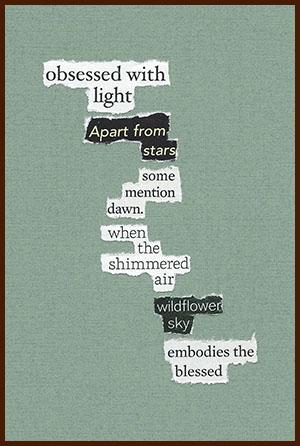 found poem © j.i. kleinberg ~ obsessed