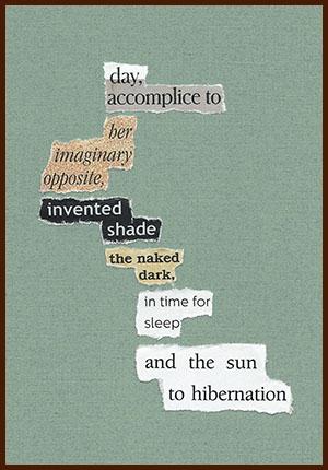 found poem © j.i. kleinberg ~ day