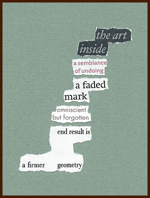 found poem © j.i. kleinberg ~ the art