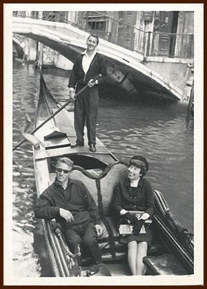Dorothy in Venice, 1963