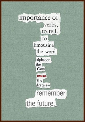 found poem © j.i. kleinberg ~ importance