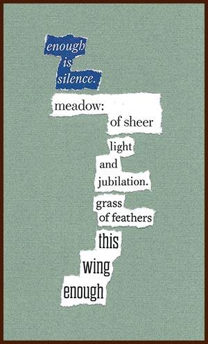 found poem © j.i. kleinberg ~ enough