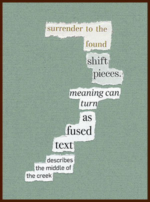 found poem © j.i. kleinberg ~ surrender