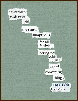 found poem © j.i. kleinberg ~ perseverance