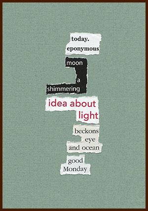 found poem © j.i. kleinberg ~ today.