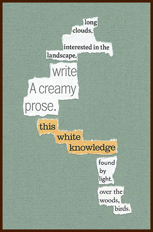 found poem © j.i. kleinberg ~ long