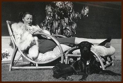 1940s Dorothy in fox, version 2
