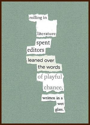 found poem © j.i. kleinberg ~ rolling
