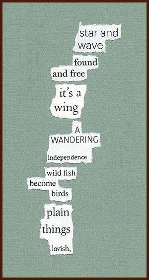 found poem © j.i. kleinberg ~ star