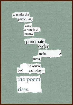 found poem © j.i. kleinberg ~ to render
