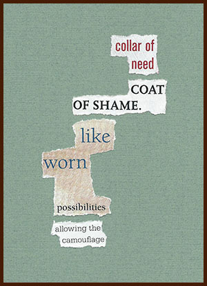 found poem © j.i. kleinberg ~ collar