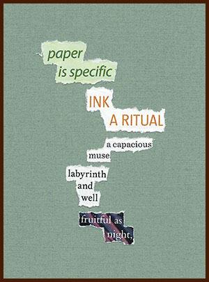 found poem © j.i. kleinberg ~ paper