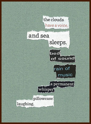 found poem © j.i. kleinberg ~ the clouds