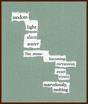 found poem © j.i. kleinberg ~ random