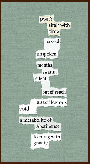 found poem © j.i. kleinberg ~ poet's