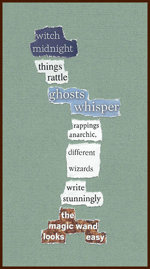 found poem © j.i. kleinberg ~ witch