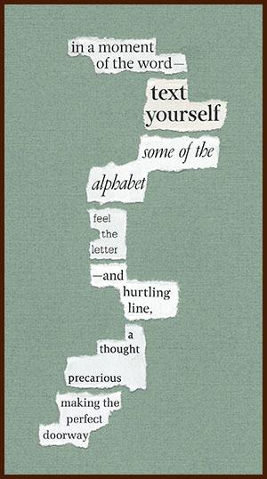 found poem © j.i. kleinberg ~ in a moment