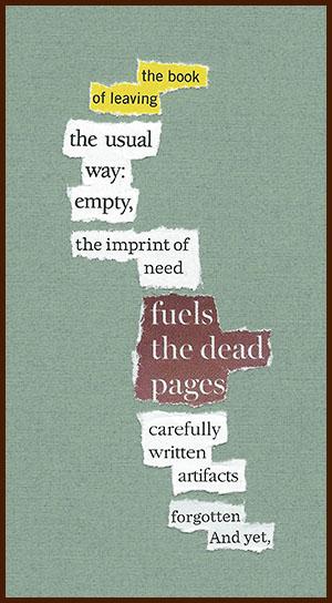 found poem © j.i. kleinberg ~ the book