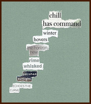 found poem © j.i. kleinberg ~ chill
