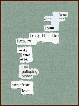 found poem © j.i. kleinberg ~ break