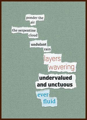 found poem © j.i. kleinberg ~ ponder