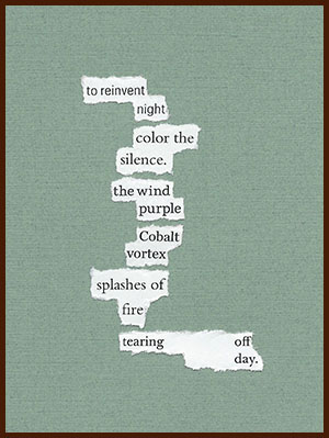 found poem © j.i. kleinberg ~ to reinvent