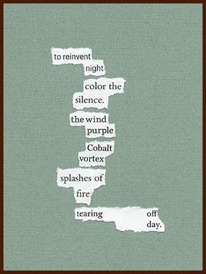 found poem © j.i. kleinberg ~ to reinvent