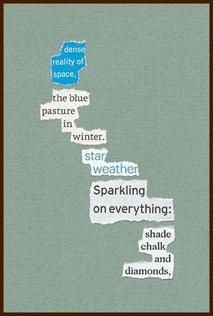found poem © j.i. kleinberg ~ dense