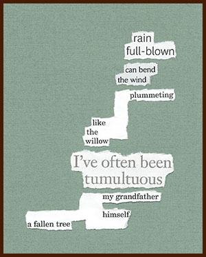 found poem © j.i. kleinberg ~ rain