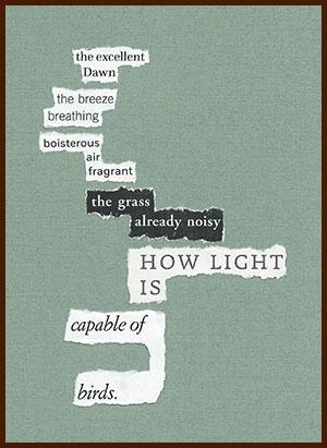 found poem © j.i. kleinberg ~ the excellent