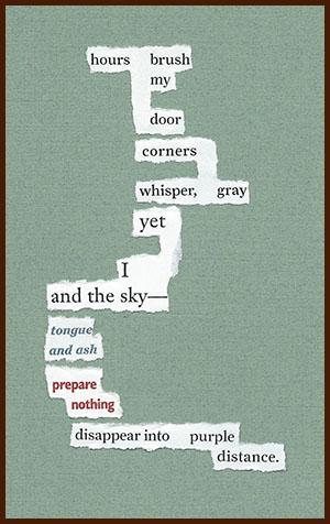 found poem © j.i. kleinberg ~ hours